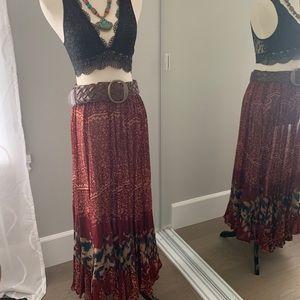 b6f9836852 Bila Skirts | Bohemian Layered Hippie Skirt | Poshmark
